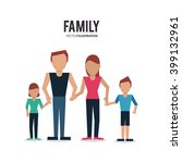 family icon design  vector... | Shutterstock .eps vector #399132961