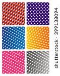 color glitter stripe on white... | Shutterstock .eps vector #399138094