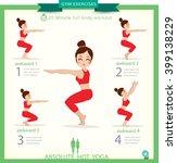 sport and fitness infographics. ... | Shutterstock .eps vector #399138229