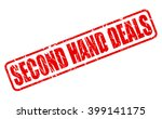 Second Hand Deals Red Stamp...