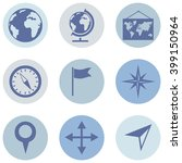 vector set of  geography icons. | Shutterstock .eps vector #399150964