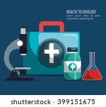 medical care design  | Shutterstock .eps vector #399151675