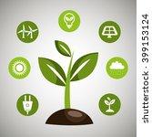 renewable energy  design  | Shutterstock .eps vector #399153124