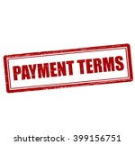 rubber stamp with text payment...