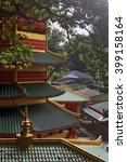 roof of the chinese style... | Shutterstock . vector #399158164