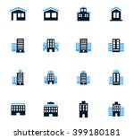buildings  icon set for web... | Shutterstock .eps vector #399180181