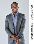 portrait of a successful... | Shutterstock . vector #399196735