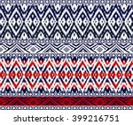 seamless  tribal bo der ... | Shutterstock .eps vector #399216751