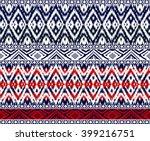 seamless  tribal bo der ... | Shutterstock .eps vector #399216751