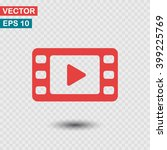 video icon. one of set web icons | Shutterstock .eps vector #399225769