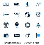 travel icon set for web sites... | Shutterstock .eps vector #399245785