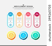 web element design | Shutterstock .eps vector #399265705
