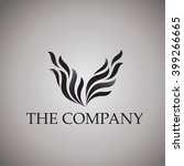 wing logo   Shutterstock .eps vector #399266665