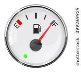 fuel gauge. full tank. vector... | Shutterstock .eps vector #399269929