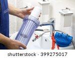 Plumber Installing New Water...