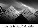 Black And White Urban Geometry...