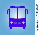 bus icon. schoolbus simbol. | Shutterstock .eps vector #399287815