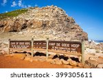 cape of good hope  south africa | Shutterstock . vector #399305611