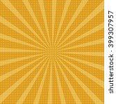 radial background. | Shutterstock .eps vector #399307957