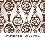 vintage flower design | Shutterstock .eps vector #39934492