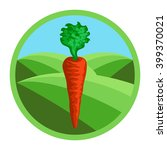 carrot. organic vegetables ... | Shutterstock .eps vector #399370021
