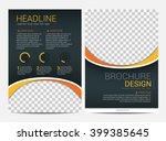 brochure template flyer design...   Shutterstock .eps vector #399385645