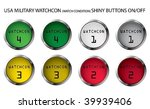 usa military watchcon shiny... | Shutterstock .eps vector #39939406