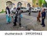 jerusalem  israel   february 25 ... | Shutterstock . vector #399395461