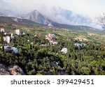 holiday on black sea simeiz in... | Shutterstock . vector #399429451