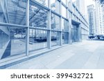 modern skyscrapers in... | Shutterstock . vector #399432721