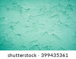 old texture turquoise blue... | Shutterstock . vector #399435361