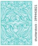 elegant vector background with... | Shutterstock .eps vector #399443821