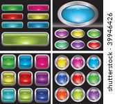 set of button.  these are... | Shutterstock . vector #39946426
