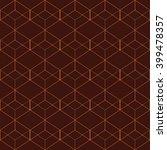 vector seamless pattern. modern ... | Shutterstock .eps vector #399478357