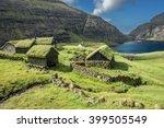 nordic natural landscape ...   Shutterstock . vector #399505549