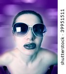 fashion art woman | Shutterstock . vector #39951511