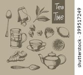 Hand Drawn Tea Collection...