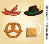 german culture design  | Shutterstock .eps vector #399551584