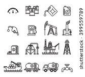 oil industry gasoline... | Shutterstock .eps vector #399559789