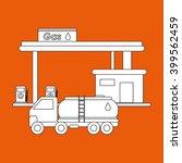 oil industry design  vector... | Shutterstock .eps vector #399562459