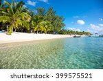 beautiful views of the resort... | Shutterstock . vector #399575521