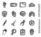 Morgue Icons Freehand 2 Color