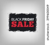 black friday sale abstract... | Shutterstock . vector #399600049