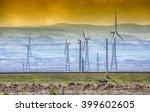 Windmills And Sunset....