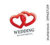 vector logo wedding | Shutterstock .eps vector #399637159