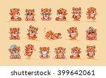 set vector stock illustrations... | Shutterstock .eps vector #399642061
