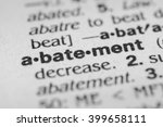 Small photo of Abatement