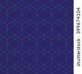vector seamless pattern. modern ... | Shutterstock .eps vector #399674104
