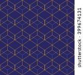 vector seamless pattern. modern ... | Shutterstock .eps vector #399674131