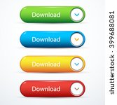 set of download buttons | Shutterstock .eps vector #399688081